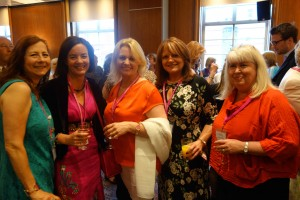 From left to right: Henri Gyland, Me (!) AnneMarie Brear, Debbie Flint, Janet Gover