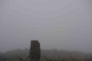 Summit in mist!
