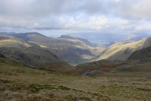 Views near top Scafell