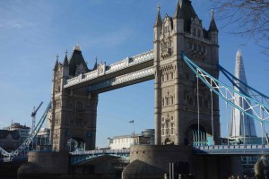 Tower Bridge blue sky