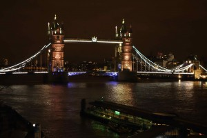 Tower bridge from apt