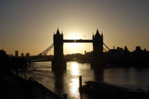 Tower bridge morning