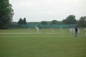 Ben batting for draw