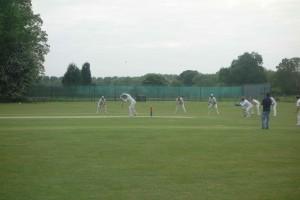 Ben batting for draw