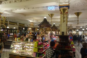 Chocolate hall at Harrods
