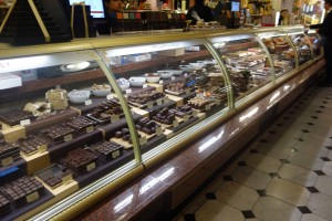 Chocolate at Harrods - umm, one of each?