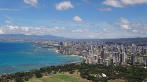 Hawaii from Diamond Head