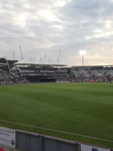 Hampshire vs Lancashire at the Aegus Bowl