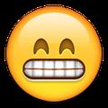 emoji grinning