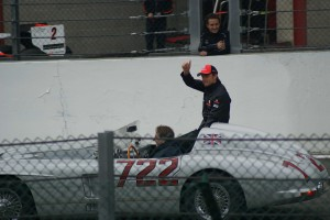 Jenson Button driver's parade, Spa