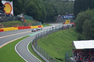 Spa Grand prix, towards Eau Rouge corner