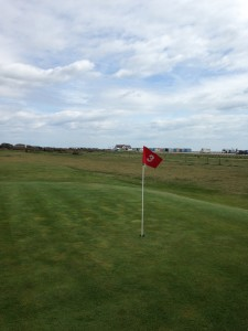 Golf hole hayling island