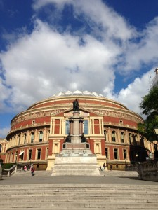 Royal Albert Hall from Prince Consort Road