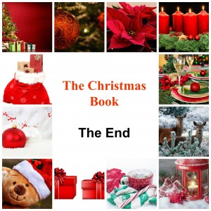 Christmas book The End