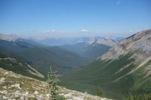 Top of Sulphur rim
