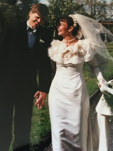 Wedding me and Andrew 2